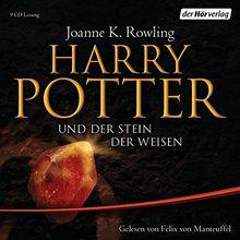 Harry Potter und der Stein der Weisen: Gelesen von Felix von Manteuffel