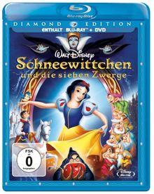 Schneewittchen und die sieben Zwerge (Diamond Edition + DVD) [Blu-ray]