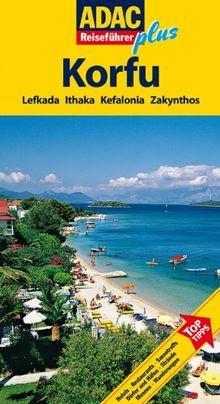 ADAC Reiseführer plus Korfu / Ioninische Inseln: Mit extra Karte zum Herausnehmen