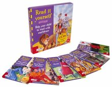 "Read it Yourself Box 4 - Level 4: ""Snow White and the Seven Dwarfs"", ""the Pied Piper of Hamelin"", ""the Wizard of Oz!"", ""Dick Whittington"", ""Heidi"", ... Wolf"" Level 4 (Read it Yourself - Level 4)"