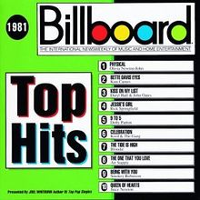 Billboard Top Hits 1981