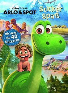 Disney - Arlo & Spot Stickerspaß: Mit mehr als 40 Stickern