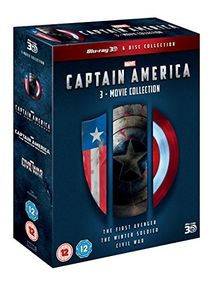 Captain America 1-3 Triplepack (3D) [Blu-ray] [UK Import]