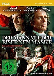 Der Mann mit der eisernen Maske - Remastered Edition / Hervorragende Verfilmung des berühmten Romans von Alexandre Dumas in der ungekürzten Fassung (Pidax Historien-Klassiker)