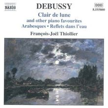 DEBUSSY: Clair de Lune/Arabesques/+