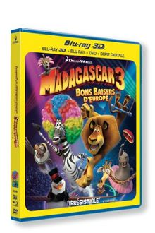 Madagascar 3 : bons baisers d'europe [Blu-ray] [FR Import]