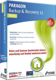 Paragon Backup & Recovery 11 Family