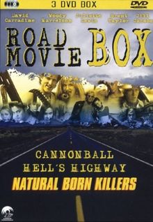 Roadmovie Box incl. Natural Born Killers - Cannonball - Hell's Highway [3 DVDs]