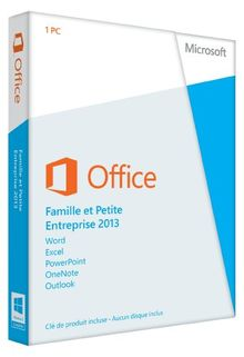 Microsoft Office Home and Business 2013 - 1PC (Product Key Card ohne Datenträger) - französisch