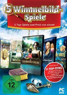 5 Wimmelbild-Spiele