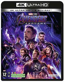 Avengers 4 : endgame 4k ultra hd [Blu-ray] [FR Import]