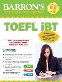 TOEFL iBT with CD-ROM and 2 Audio CDs (Barron's TOEFL IBT (W/CD))