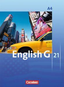 English G 21 - Ausgabe A: Band 4: 8. Schuljahr - Schülerbuch: Kartoniert