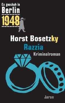 Razzia: Kappes 20. Fall (1948). Kriminalroman
