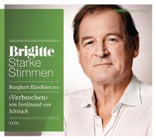 Verbrechen: Starke Stimmen. BRIGITTE Hörbuch-Edition