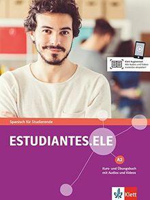 Estudiantes.ELE A2: Spanisch für Studierende. Kurs- und Übungsbuch mit Audios und Videos