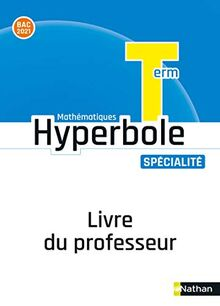 Hyperbole Terminale-Enseignement Spécialité - Livre Professeur 2020