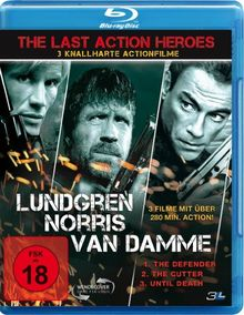 The Last Action Heroes (The Cutter, The Defender, Until Death) [Blu-ray]