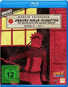 Naruto Shippuden - Staffel 21.1: Folgen 652-661 [Blu-ray]