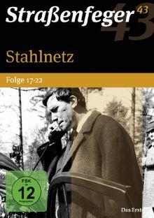 Straßenfeger 43 - Stahlnetz / Folge 17-22 [4 DVDs]