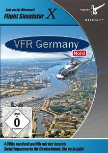 Flight Simulator X - VFR Germany 2: Nord (DVD-ROM)