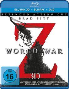 World War Z 3D [3D Blu-ray]