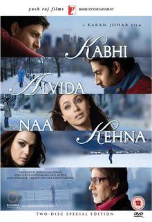 Kabhi Alvida Naa Kehna (Karan Johar / Hindi Film / Bollywood Movie / Indian Cinema) [2 DVDs] [UK Import]