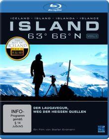 Island 63° 66° N - Der Laugavegur: Der Weg der heißen Quellen [Blu-ray]