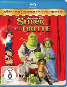 Shrek 3 - Shrek der Dritte [Blu-ray]