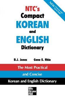NTC's Compact Korean and English Dictionary (NTC Dictionary)