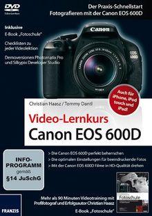 Canon EOS 600D - Videolernkurs