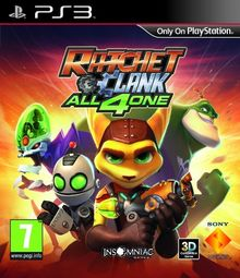 PS3 Ratchet & Clank: All 4 One (PEGI)