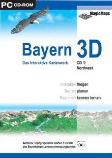 Bayern 3D.1 Nord,CD-ROM