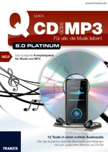 Quick CD goes MP3 8.0 Platinum
