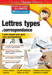 Lettres types et correspondance - Edition 2007