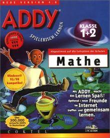 ADDY: Mathe Klasse 1 und 2. 3 CD- ROMs für Windows 95