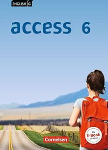 English G Access - Allgemeine Ausgabe: Band 6: 10. Schuljahr - Schülerbuch: Festeinband