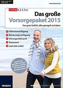 Franzis Verlag Das große Vorsorgepaket 2015