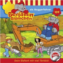Benjamin Blümchen als Baggerfahrer (CD) Folge 109
