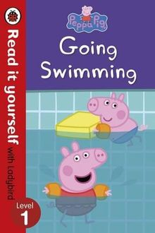 Peppa Pig: Going Swimming – Read It Yourself with Ladybird Level 1