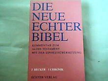 Die Neue Echter-Bibel. Kommentar / Kommentar zum Alten Testament mit Einheitsübersetzung / 1 Chronik: LFG 18
