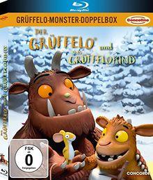Grüffelo-Monster-Doppelbox: Der Grüffelo / Das Grüffelokind (limitierte Version in O-Card) [2 Discs] [Blu-ray]