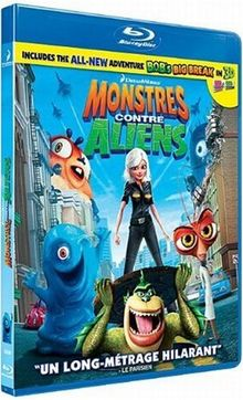 Monstres contre aliens [Blu-ray] [FR Import]