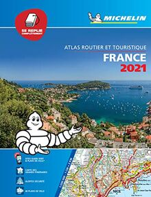 France 2021 - Tourist & Motoring Atlas Multi-flex: Tourist & Motoring Atlas A4 Multiflex (Michelin Road Atlases)