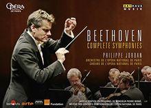 Beethoven: Sämtliche Sinfonien [Philippe Jordan, Paris] [4 DVDs]