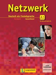 Netzwerk / Kursbuch A1 mit 2 DVDs und 2 Audio-CDs: Deutsch als Fremdsprache