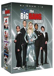 Coffret the big bang theory, saisons 1 à 4 [FR Import]