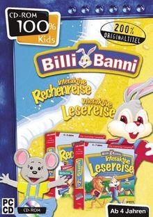 100%Kids: BilliBanni Interaktiv Lese/Rechenreise