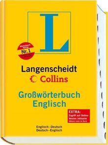 Langenscheidt Collins Großwörterbuch Englisch - Buch mit Daumenregister: Englisch-Deutsch/Deutsch-Englisch