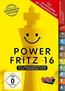 Power Fritz 16 Schachprogramm plus Powerbook 2019